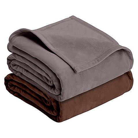 Vellux 174 Plush Blanket Bed Bath Amp Beyond