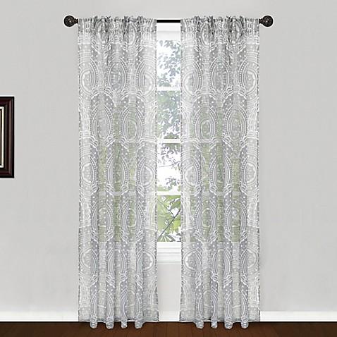 Park B Smith Suzani Pinch Pleat Window Curtain Panel Pair Bed Bath Beyond