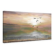 Scenic Wall Art Sunset Wall Art Bed Bath Amp Beyond