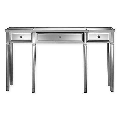 Pulaski Calwa 3-Drawer Mirrored Console Table at Bed Bath & Beyond in Cypress, TX | Tuggl