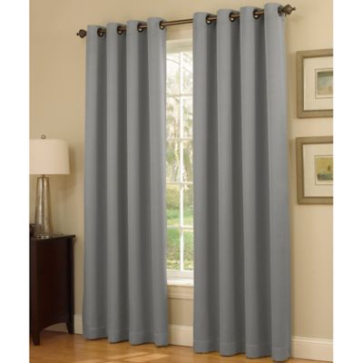 Insola Dorian Thermalayer Grommet Top Window Curtain Panel Bed Bath Beyond