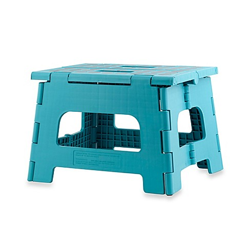 Kikkerland 174 Design Rhino Ii Folding Step Stool Bed Bath
