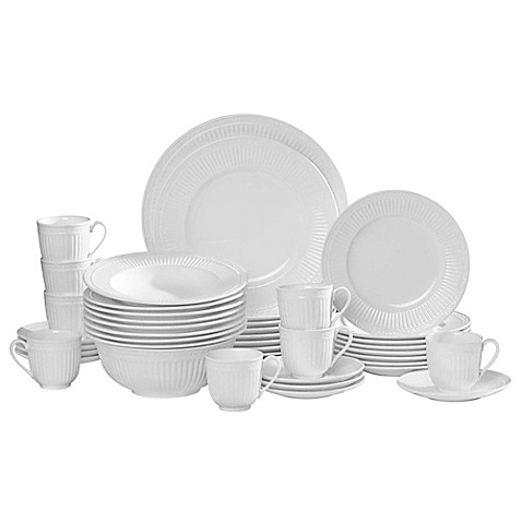 Mikasa 174 Italian Countryside 42 Piece Dinnerware Set Bed