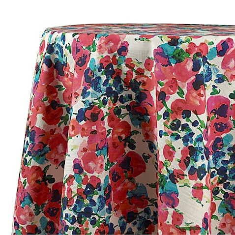 70 Inch Round Christmas Tablecloth