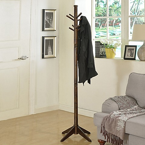 Franklin Standing Coat Rack at Bed Bath & Beyond in Cypress, TX | Tuggl