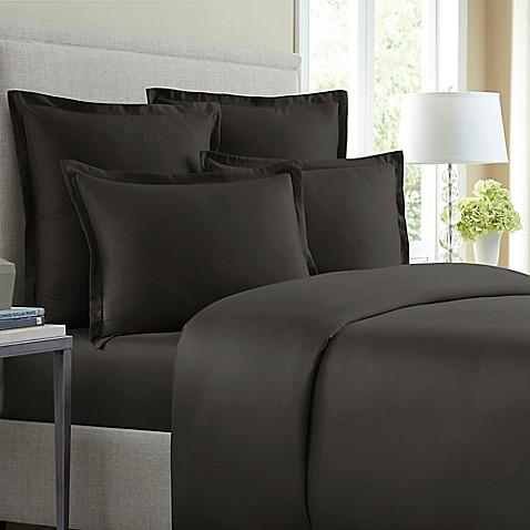 Wamsutta 174 620 Thread Count Solid Pillow Sham Bed Bath