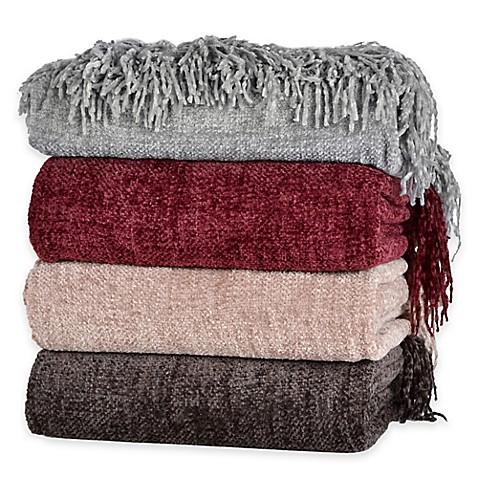 Berkshire Blanket 174 Chenille Comfort Throw Bed Bath Amp Beyond