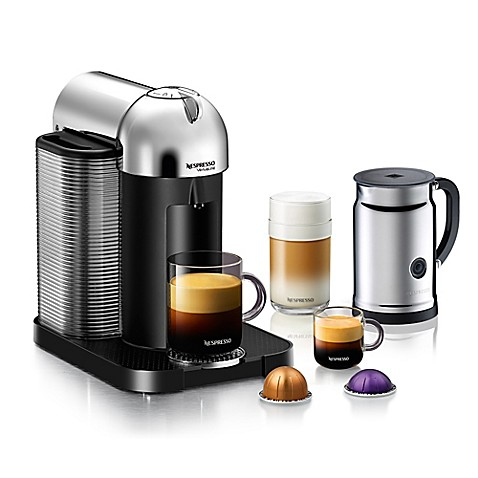 nespresso vertuoline coffee and espresso maker bundle bed bath beyond. Black Bedroom Furniture Sets. Home Design Ideas