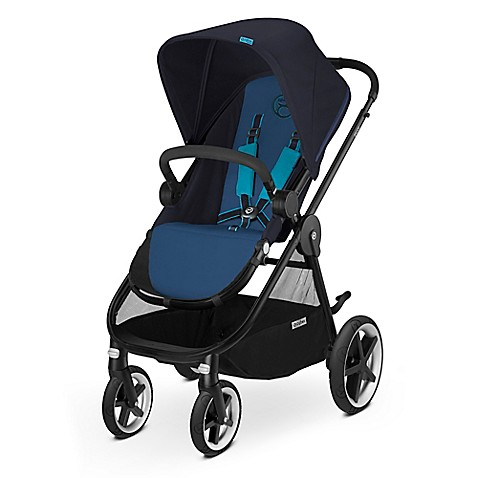 cybex gold balios m stroller in true blue buybuy baby. Black Bedroom Furniture Sets. Home Design Ideas