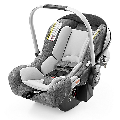 stokke pipa by nuna infant car seat with base in black melange buybuy baby. Black Bedroom Furniture Sets. Home Design Ideas