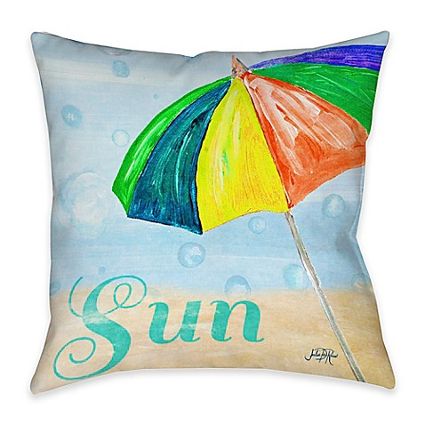 Inexpensive Beach Throw Pillows : Buy Beach Play I Indoor/Outdoor Throw Pillow from Bed Bath & Beyond