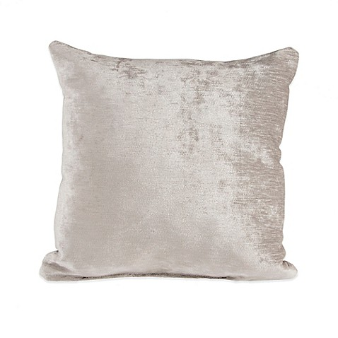 Glenna Jean Fly-By Velvet Throw Pillow in Grey at Bed Bath & Beyond in Cypress, TX | Tuggl