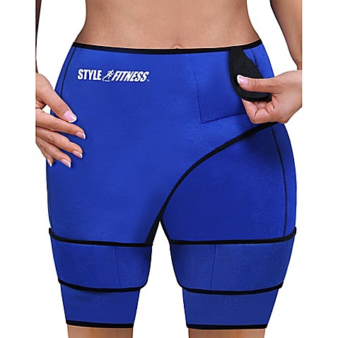 Slimming Sauna Shorts in Blue at Bed Bath & Beyond in Cypress, TX | Tuggl