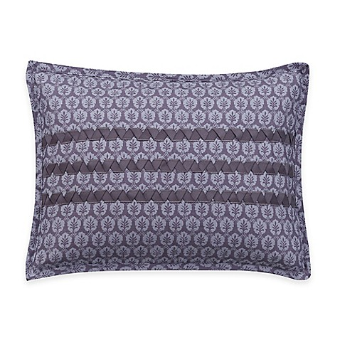 Helena Oblong Throw Pillow in Purple - Bed Bath & Beyond