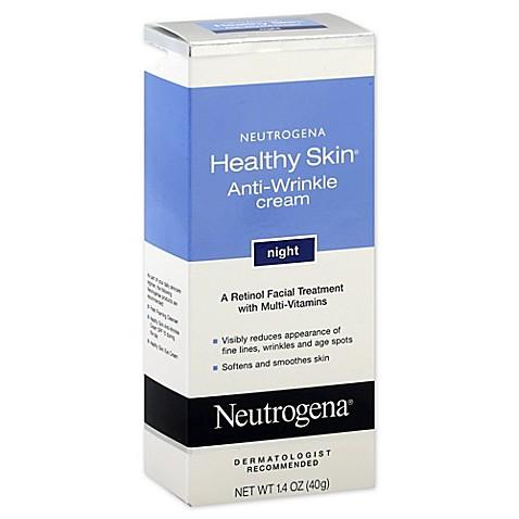 Neutrogena anti wrinkle cream night