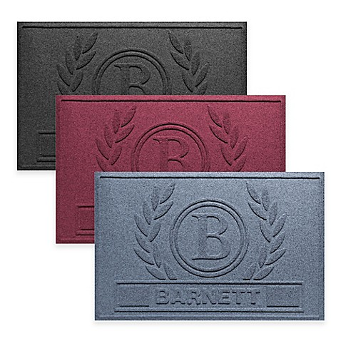 Weather Guard™ Wreath 23-Inch x 36-Inch Door Mat at Bed Bath & Beyond in Cypress, TX   Tuggl