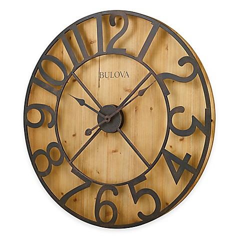 Bulova Silhouette Wall Clock - Bed Bath & Beyond