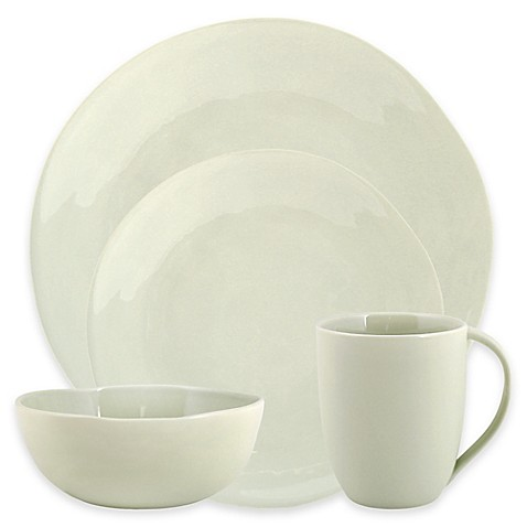 Artisanal Kitchen Supply® Curve Dinnerware Collection in Celadon at Bed Bath & Beyond in Cypress, TX | Tuggl