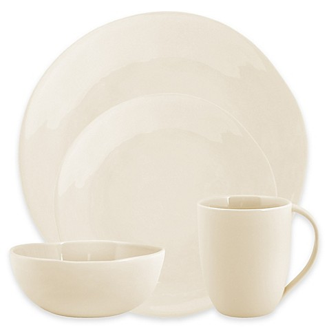 Artisanal Kitchen Supply® Curve Dinnerware Collection in Linen at Bed Bath & Beyond in Cypress, TX | Tuggl