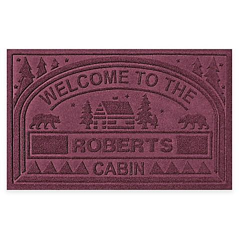 Welcome To The Cabin Door Mat Bed Bath Beyond