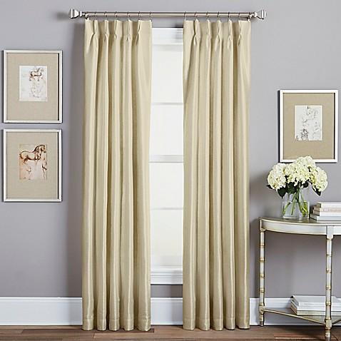 Spellbound Pinch Pleat Rod Pocket Lined Window Curtain Panel Bed Bath Beyond