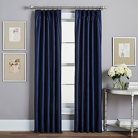 Spellbound Pinch Pleat Rod Pocket Lined Window Curtain