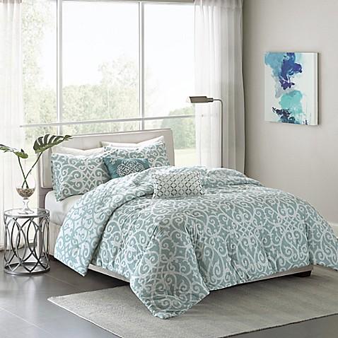Madison Park Pure Elena 5 Piece Reversible Comforter Set