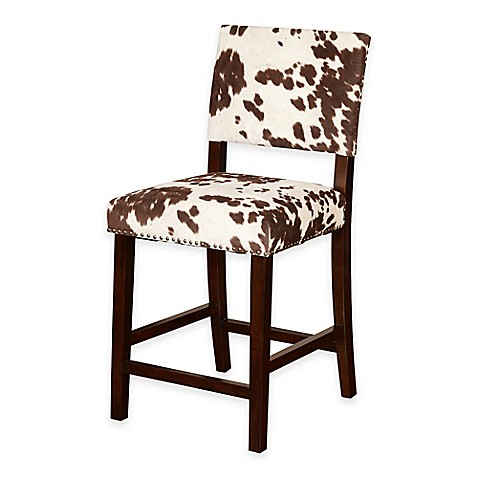 Buy Corey Udder Madness 24 Inch Counter Stool In Brown