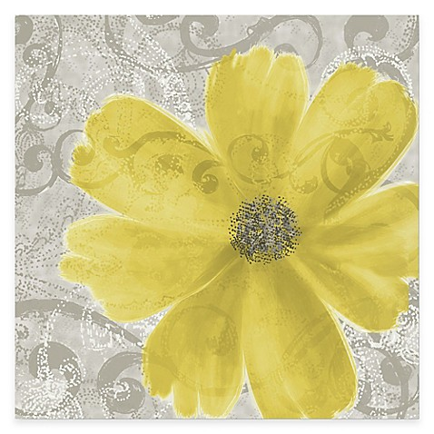 Flower Yellow Poppy Canvas Wall Art Bed Bath Amp Beyond