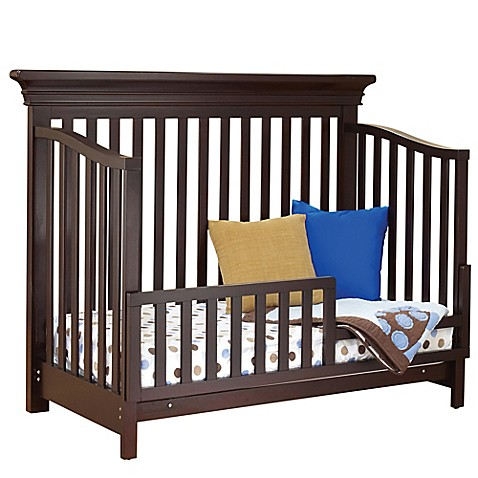 buy sorelle torino toddler guard rail in cherry from bed bath beyond. Black Bedroom Furniture Sets. Home Design Ideas