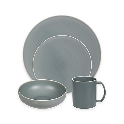 Artisanal Kitchen Supply® Edge Dinnerware Collection in Celadon at Bed Bath & Beyond in Cypress, TX | Tuggl