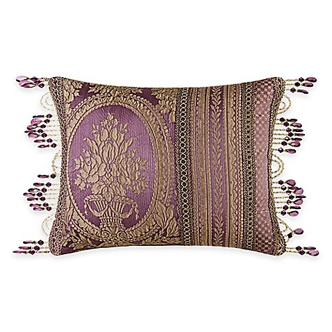 Queen Street Decorative Pillows : Buy J. Queen New York Napoleon Boudoir Throw Pillow in Merlot from Bed Bath & Beyond
