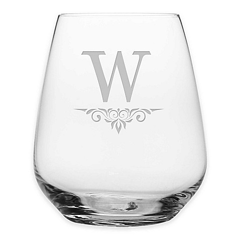 Susquehanna Glass Victoria Stemless Wine Glasses (Set of 4) at Bed Bath & Beyond in Cypress, TX | Tuggl