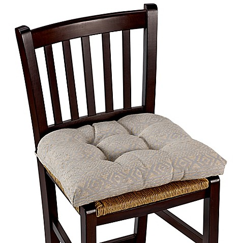ruxton chair pad in grey bed bath beyond. Black Bedroom Furniture Sets. Home Design Ideas
