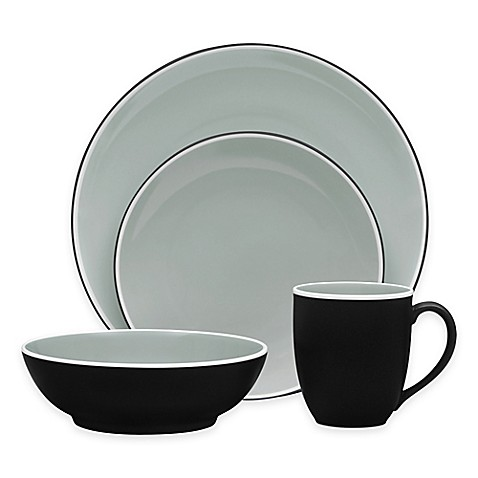 Noritake® ColorTrio Coupe Dinnerware Collection in Graphite at Bed Bath & Beyond in Cypress, TX   Tuggl