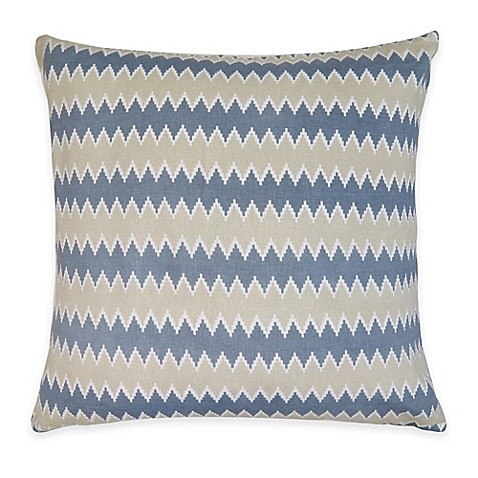 The Vintage House by Park B. Smith Zig Zag Square Throw Pillow - Bed Bath & Beyond