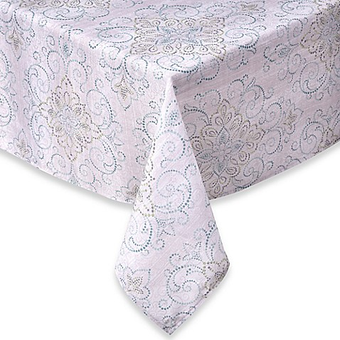 Lenox 174 French Perle Charm Tablecloth Bed Bath Amp Beyond