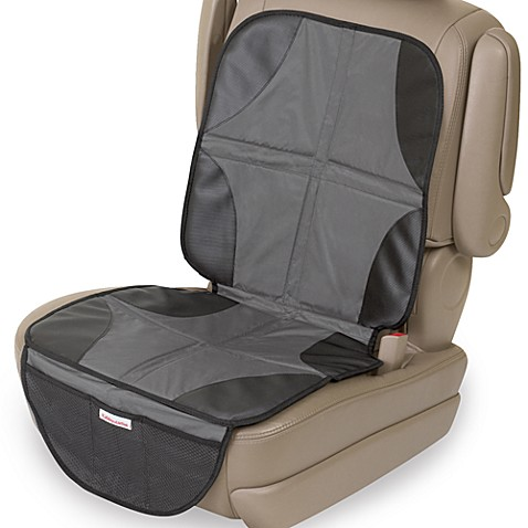 Drive Auto Products Car Seat Protector (2-Pack) Ultimate Neoprene Backing is Best Protection for Child & Baby Cars Seats, Dog Mat - Cover Pad Protects Automotive Vehicle Leather, Cloth Upholstery.