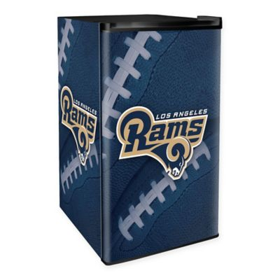 NFL Los Angeles Rams Countertop Height Refrigerator