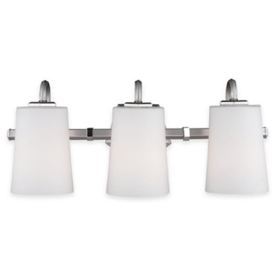Buy Feiss Pentagram 3-Light Vanity Light with CFL Bulb from Bed Bath & Beyond