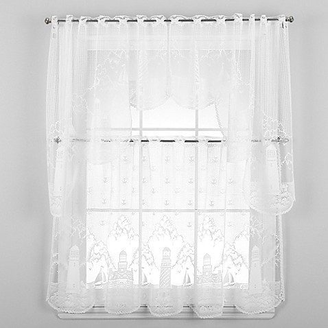 Heritage Lace Lighthouse Window Curtain Tier And Valance