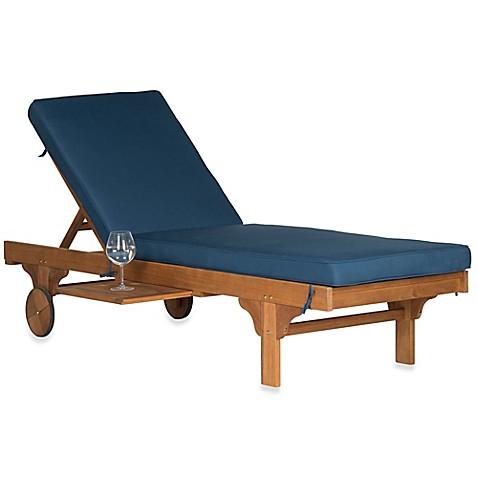 Safavieh chaise newport lounger bed bath beyond for Aquatouch 2 piece bath chaise