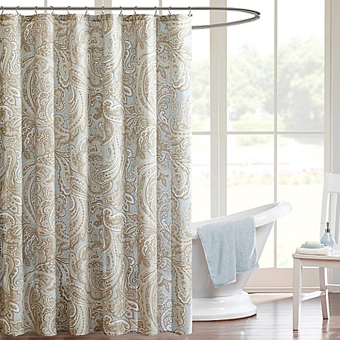 Madison Park Pure Ronan Shower Curtain Bed Bath Beyond