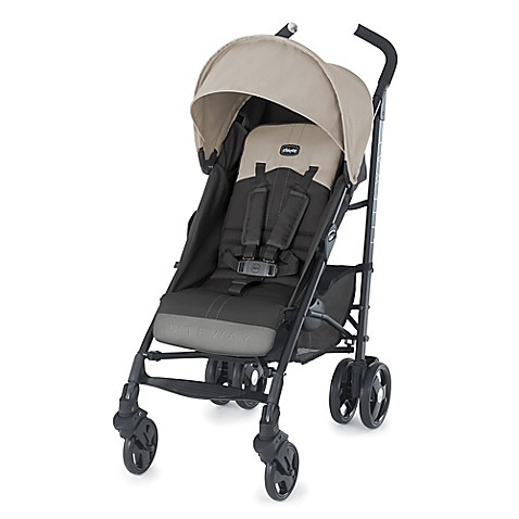 Chicco liteway stroller in almond beige grey buybuy baby - Silla chicco liteway 2 ...