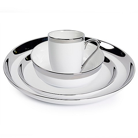 Studio TU® by Tabletops Unlimited® Sterling Dinnerware Collection at Bed Bath & Beyond in Cypress, TX | Tuggl