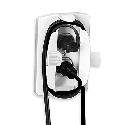 safety 1st outlet cover with cord shortener buybuy baby. Black Bedroom Furniture Sets. Home Design Ideas