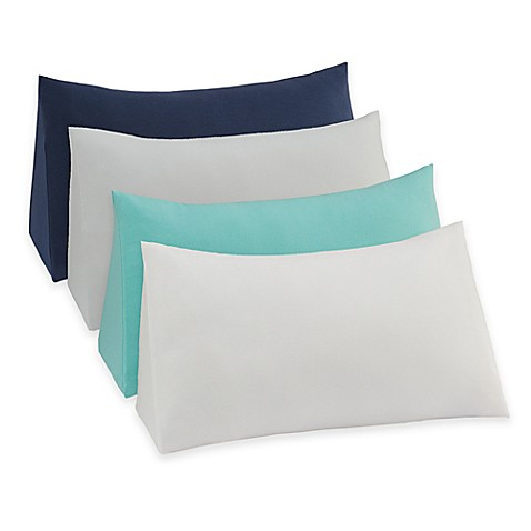 Therapedic Reading Wedge Pillow Knit Cover - Bed Bath & Beyond