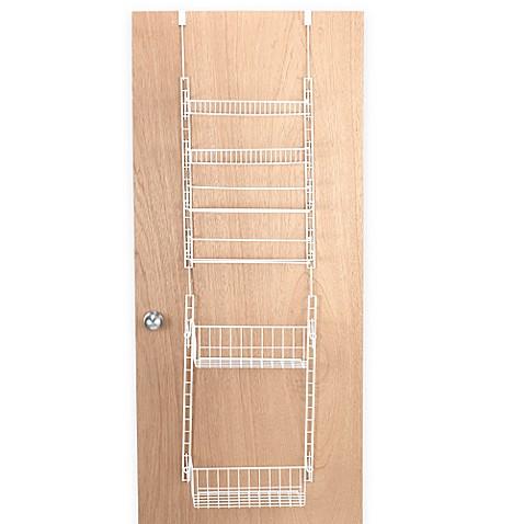 Over The Door Household Organizer Deluxe Pantry Rack