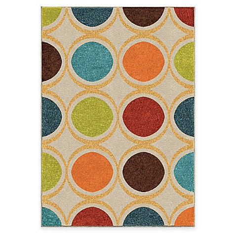 Aria Rugs Color Circles Area Rug Bed Bath Amp Beyond