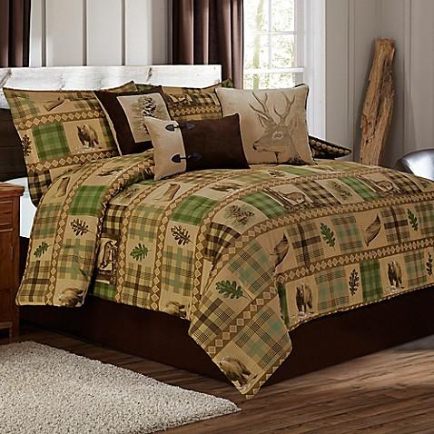 Woodland Comforter Set In Tan Brown Bed Bath Amp Beyond